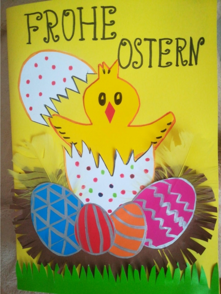 Happy Easter! Frohe Ostern!