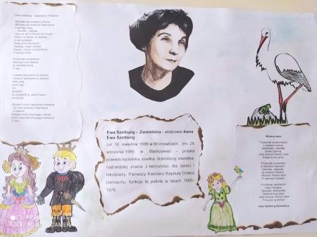 Urodziny Patronki - Pani Ewy Szelburg-Zarembiny
