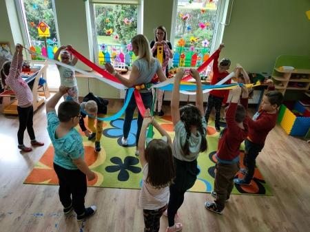 Zabawy matematyczne - zajęcia otwarte online dla rodziców w grupie Rybki