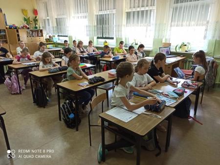 Czytam z klasą - III d