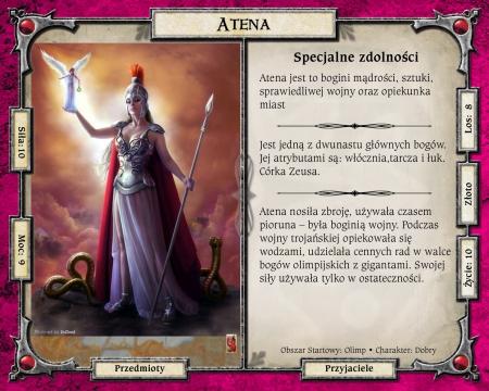 Mitologiczne karty do gry