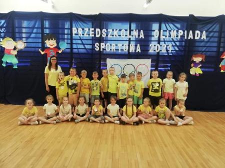 Przedszkolna Olimpiada Sportowa