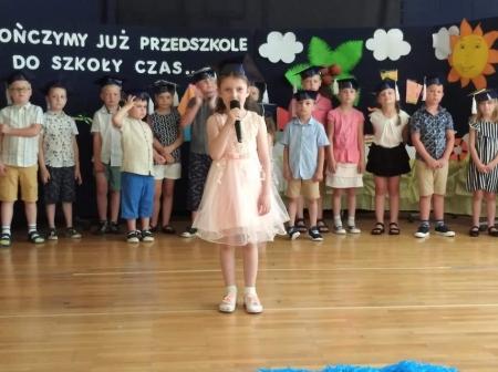 Kończymy już przedszkole,  do szkoły czas....