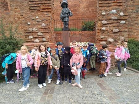 Wycieczka do Warszawy klasy II b